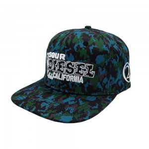 Sour Diesel 420 Camo Snapback Front