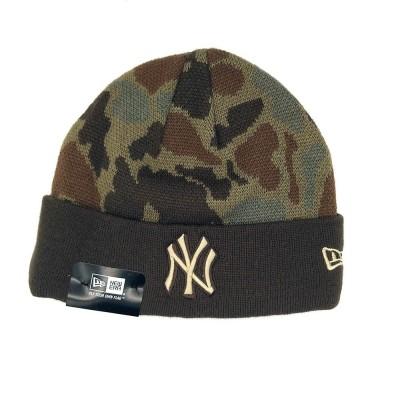 New Era New York Yankees - Camo Brown Beanie