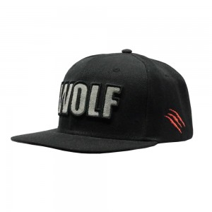 LAUREN ROSE WOLF BLACK SNAPBACK 420