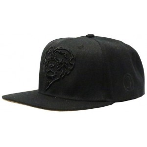 LAUREN ROSE BLACK LIONHEARTED SNAPBACK 420