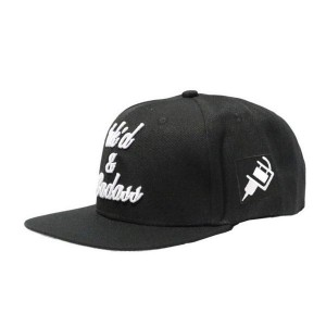 LAUREN ROSE INK'D AND BADASS BLACK SNAPBACK