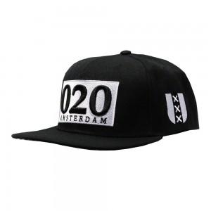 LAUREN ROSE BLACK AMSTERDAM 020 SNAPBACK