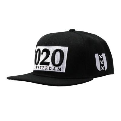 020 Amsterdam Snapback - Black