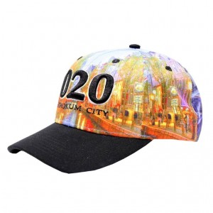 LAUREN ROSE 020 AMSTERDAM ALLOVER PRINT LOW CROWN SNAPBACK