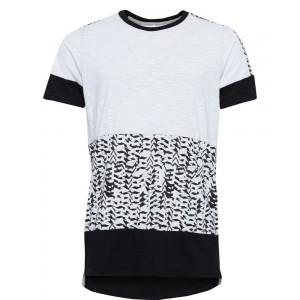 Humör Longshirt White/Black