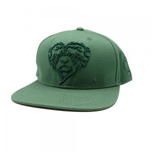 LAUREN ROSE GROEN LIONHEARTED SNAPBACK 420