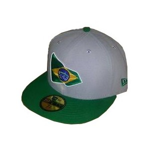 NEW ERA BRASIL FLAG WOLRD CUP CAP
