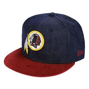 NEW ERA WASHINGTON REDSKINS DENIM CAP