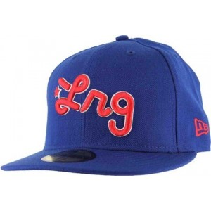 NEW ERA LRG BLAUW FITTED CAP