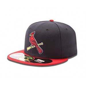 NEW ERA ST. LOUIS CARDINALS ON FIELD CAP