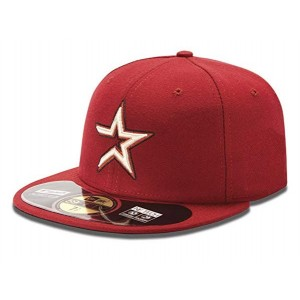 NEW ERA HOUSTON ASTROS BURGUNDY ON FIELD CAP