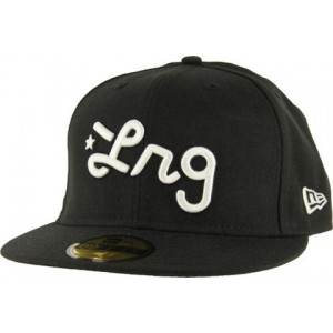 NEW ERA LRG ZWART/WIT FITTED CAP