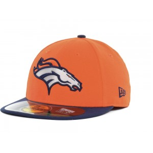 NEW ERA DENVER BRONCOS ON FIELD FITTED CAP