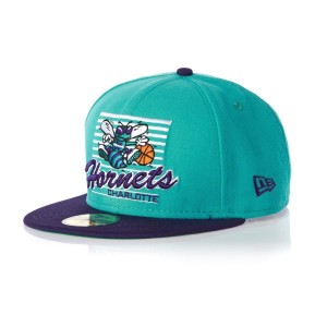 NEW ERA CHARLOTTE HORNETS FITTED CAP