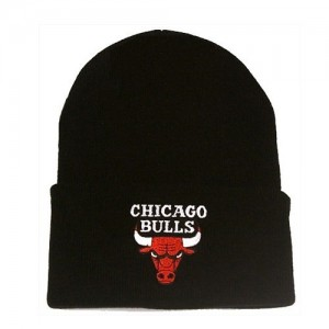 CHICAGO BULLS BEANIE BLACK