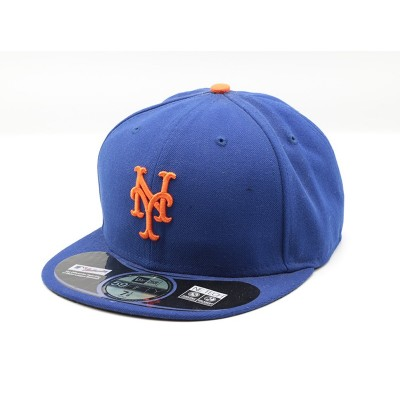 New Era NY Mets Home Blauwe Fitted Cap