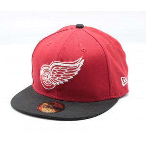 New Era Detroit Red Wings Rode Fitted Cap