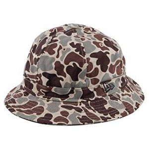NEW ERA CAMO BUCKET HAT