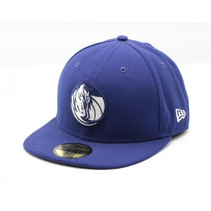 NEW ERA DALLAS MAVERICKS BLAUW HOME FITTED CAP
