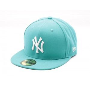 NEW ERA NEW YORK YANKEES TURQUOISE FITTED CAP