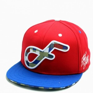 FLAT FITTY LOGO RODE SNAPBACK