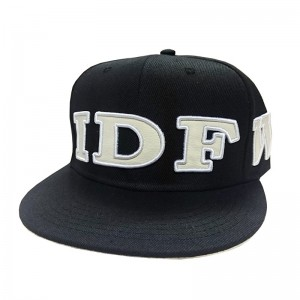LAUREN ROSE IDFWU ( I DON'T FUCK WITH U) ZWARTE SNAPBACK