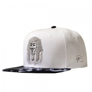 LAUREN ROSE PHARAO X SMOKE WITTE SNAPBACK