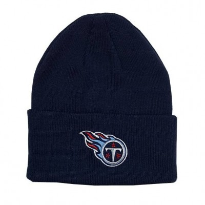 Tennessee Titans Knit Hat - Navy