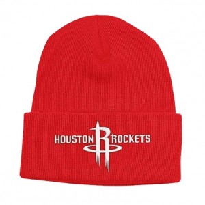 Houston Rockets Knit Hat - Red
