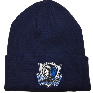 Dallas Mavericks Knit Hat - Navy