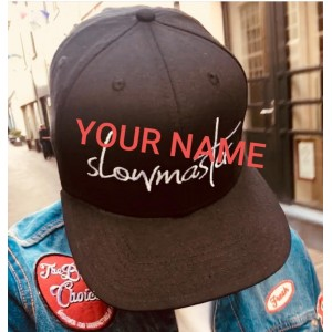 LR - Customize your cap with a name (3 Pieces)