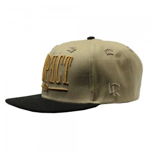 LAUREN ROSE RESPECT KHAKI SNAPBACK 420