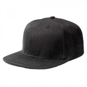Lauren Rose Trucker Plain - Black