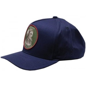 Lauren Rose Pet Indian First Nations Navy Snapback cap
